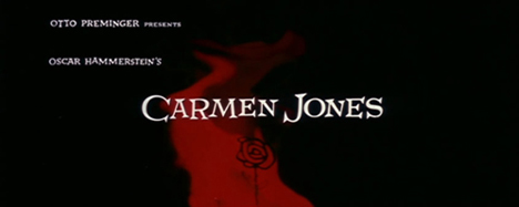 Carmen Jones: the Title Credits